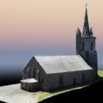 Modelisation 3d drone chapelle