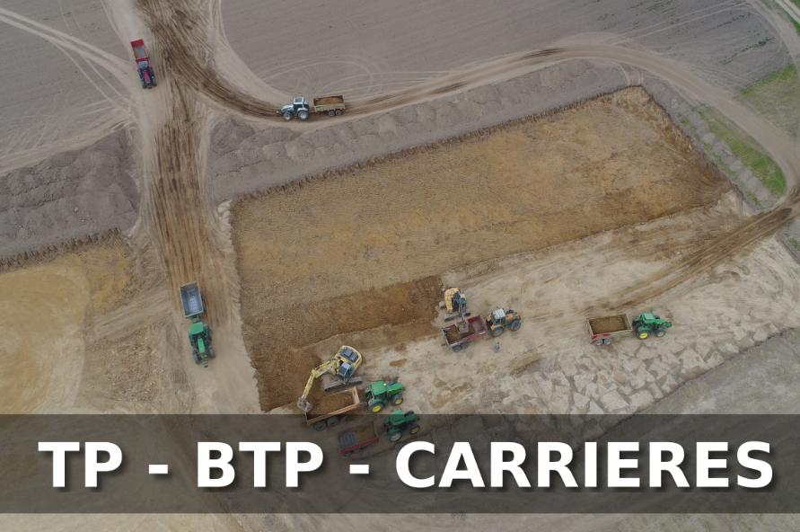 Drone TP BTP Carrières