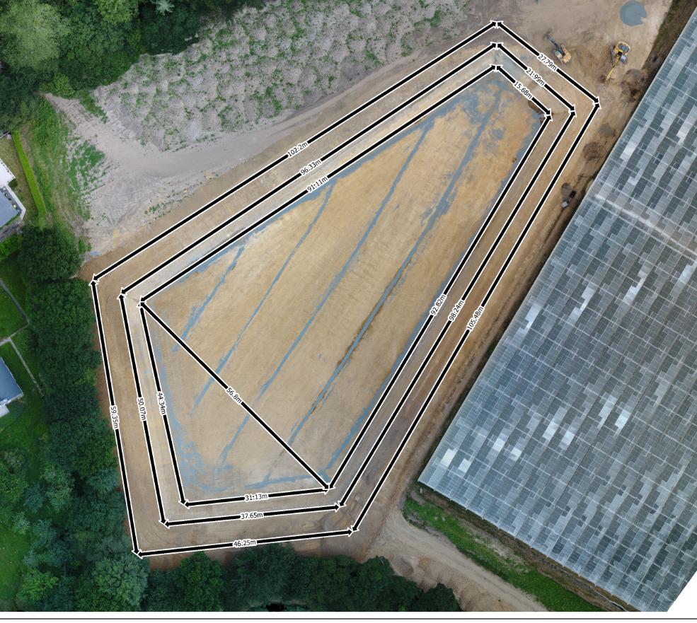Drone suivi de chantier