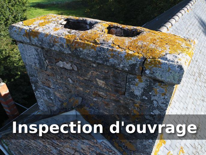 Inspection d'ouvrage par drone