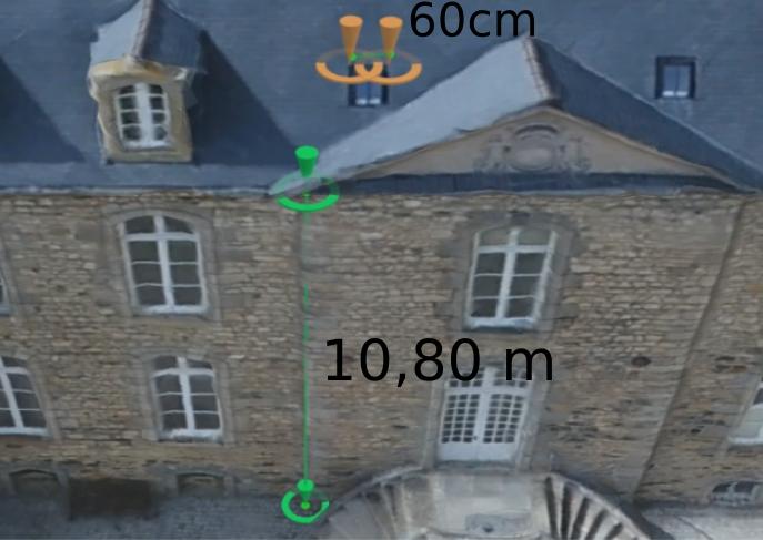 Drone mesure de batiment