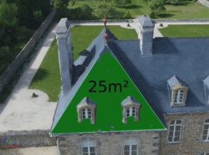 Drone toiture